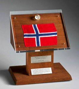 Månestein. Foto: Åge Hojem, NTNU Vitenskapsmuseet.